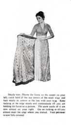 Sari Safari - how to drape a bengali style sari