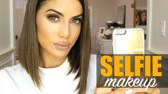 SELFIE MAKEUP - Kylie  Jenner Inspired (Eyes, Skin and Lips)