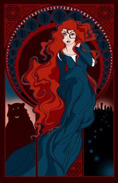 Fate Art Print - Brave - Merida
