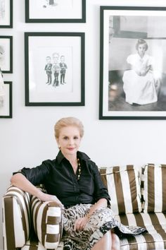 The legendary Mrs. Herrera: http://www.stylemepretty.com/2015/04/18/behind-the-scenes-with-carolina-herrera/ | Photography: Rebecca Yale - http://www.rebeccayalephotography.com/