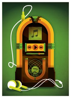 wired: jukebox by strongstuff on deviantART