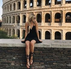 When in Rome, we like to keep it cas' cute just like this babe in our Basic Swing Dress ✨ #ANGLbabe