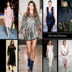 Top 14 trends from spring 2014: On the Fringe. Far from its grungy hippie roots, fringe became the embellishment of choice this season.