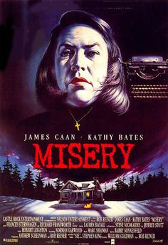 """""""Misery"""", phsycological thriller by Rob Reiner (USA, 1990)"""