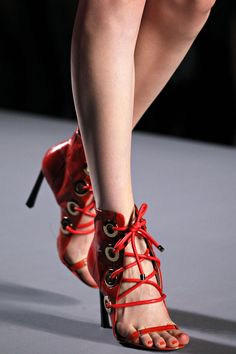 Viktor and Rolf S/S 2012 red heels