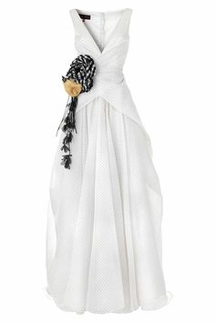 cool wedding dress from Talbot Runhof