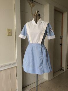 Vintage 1960s TSM Sexy Nurses Hospital Uniform by vintageclothiers