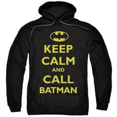 Batman - Call Batman Adult Pull-Over Hoodie