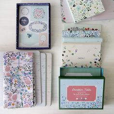 Anna Emilia Laitinen's stationary collection for Chronicle Books #illustration #papergoods #cards #notebooks