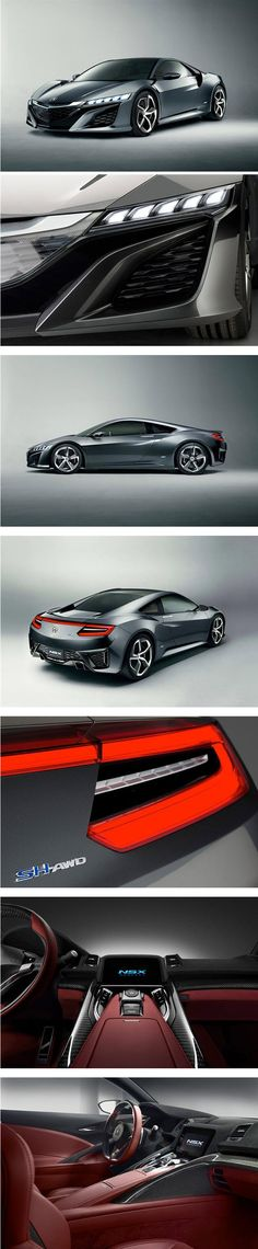 2013 Acura NSX concept, possibly my car after I am done with schooling.