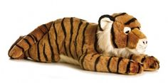 Super Trent the Tiger at theBIGzoo.com, a toy store featuring 3,000+ stuffed animals.