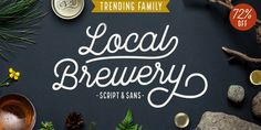 Local Brewery - Webfont & Desktop font « MyFonts