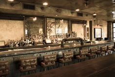 industrial vintage bar