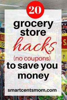 How to save money on groceries without using coupons! I hate cutting coupons, but these ways to save money on groceries are easy! via @https://www.pinterest.com/smartcents/