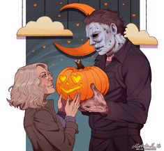 Michael Myers: Forty Years Of Terror - Entertainment Horror Movies Funny, Horror Movie Characters, Horror Films, Scary Movies, Comedy Movies, Films D' Halloween, Halloween Horror, Halloween 2018, Rob Zombie