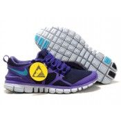 Nike Free 3.0 v3 Women's Running Shoes Obsidian/Pure Purple-Turquoise Blue on sale uk