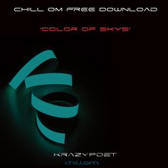 Get the Free download to 'Color of Skys' by the American Producer 'Krazypoet' its Massive...clcik on the image to grab the tune immediately...please repin ;)
