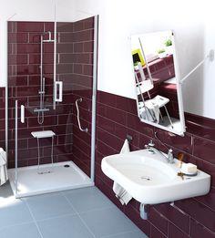 ... suelos antideslizantes hacen tu baño más accesible - Leroy Merlin