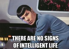 Spock talking about earth and there YOLO SWAG HIPSTERS
