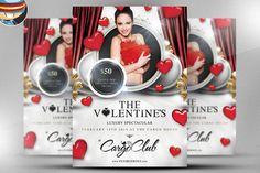 Valentine's Luxury Spectacular Flyer by FlyerHeroes on Creative Market