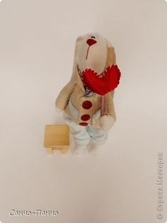 Сердечный заяц ко Дню Святого Валентина (Мини-МК)