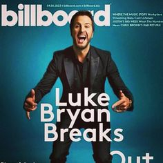 Luke Bryan, billboard