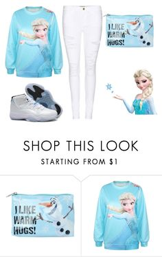 """""""LET IT GO"""" by mixedgirldoitbest ❤ liked on Polyvore featuring Disney, Frame Denim and Retrò"""