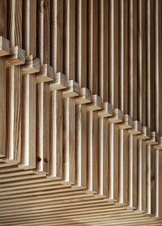 Carnicería de diseño en Melbourne Espacios en madera