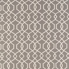 CR Laine Fabric: David Granite (Grade 16) reversed out on WHITE side for Huntley chair