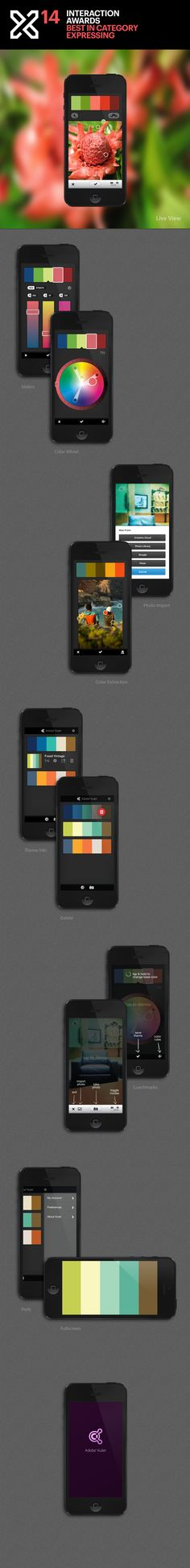 Adobe Kuler (iPhone app). The EASIEST way to find any color palette for your home. Simply amazing.