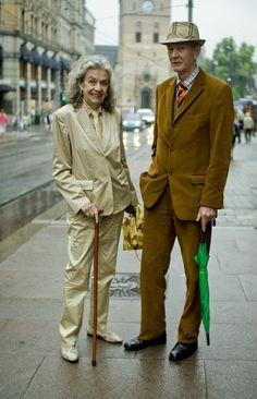 By far the most stylish couple in Oslo <3