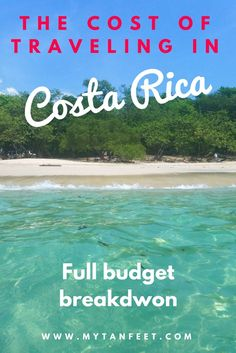 Full breakdown of the cost of traveling in Costa Rica: hotels, tours, food, souvenirs and more https://mytanfeet.com/expenses-wrap-up/cost-of-traveling-in-costa-rica/