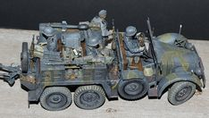"""Deutsche Krupp Protze """"Kfz.69"""" Armored Vehicles, Scale Models, Dreaming Of You, Modeling, Monster Trucks, German, Miniatures, Military, World"""