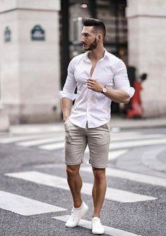 Cómo vestir cómodo y elegante este verano con estos outfits - El Cómo de las Cosas #modaverano #modaveranohombre #modahombre #verano2019 #ropahombre2019 #modahombre2019 #ropahombreverano2019 #outfitshombre #outfitshombreverano #outftishombreverano2019
