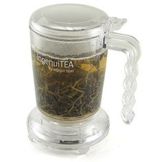 Say thank you with a small gift (that looks like you paid more): IngenuiTEA Teapot