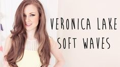 Veronica Lake Old Hollywood Hair Tutorial with Sleep In Rollers (+playlist)