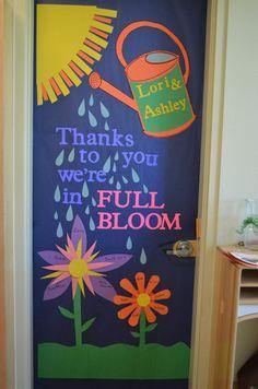 Teacher Appreciation: Door decorations