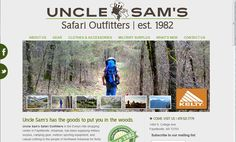 Uncle Sam's Safari Outfitters/ designer: Paul Fraley