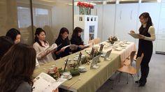 2015.11.16『世界の洋食器・音楽・アロマを融合したティータイム 』  ip20目白ショールーム