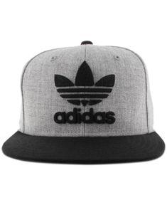ab1c584d63c ADIDAS ORIGINALS ADIDAS MEN S ORIGINALS FLAT-BRIM HAT.  adidasoriginals