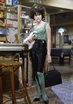 "Shirley MacLaine in ""Irma la Douce"" (1963). DIRECTOR: Billy Wilder.  Shirley won a Golden Globe Award for Best Actress & was nominated for an Academy Award for Best Actress."