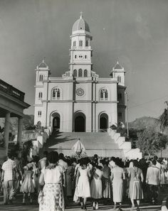 1950s Santuario de La Caridad del Cobre Photo