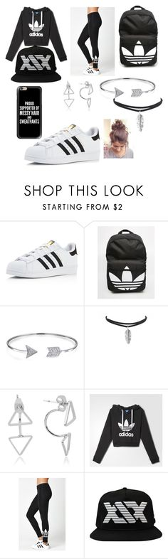 Filming a football video with the sidemen by sidemen on Polyvore featuring adidas, Bling Jewelry and Casetify
