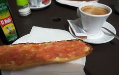 a traditional Spanish breakfast in Valencia Spain Holidays, Valencia Spain, Short Trip, Spanish Food, Spain Travel, Things To Do, Breakfast, Traditional, Ethnic Recipes