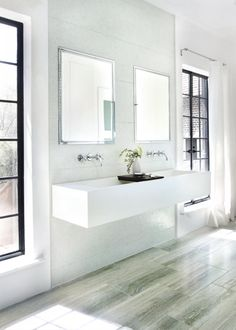 Green Glass Mosaics, neutral floor, white walls. Urban Archaeology | About | Portfolio