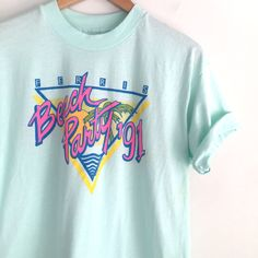 90s vintage 1991 Ferris Beach Party tshirt by louiseandco on Etsy