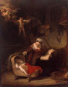 La lectura de la Bíblia, de Rembrandt