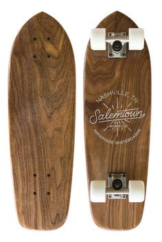 The Nova Walnut Cruiser is the classic. Shaped from solid Middle Tennessee walnut, this beast is made to carve, shred and cruise. This board is handcrafted to turn any sidewalk into the best part of y