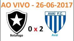BOTAFOGO X AVAI AS 20 : 00 HS - AO VIVO - ANALISE DO CAMPEONATO BRASILEI...