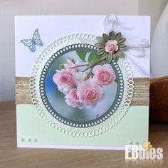 EBbieskaarten: Bloemenkaarten Decorative Plates, Home Decor, Homemade Home Decor, Decoration Home, Interior Decorating